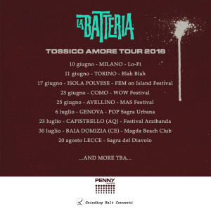 La Batteria Tour FIX
